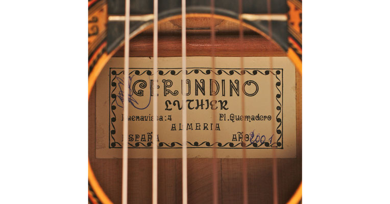 Gerundino Fernandez 2001 - Guitar 1 - Photo 4