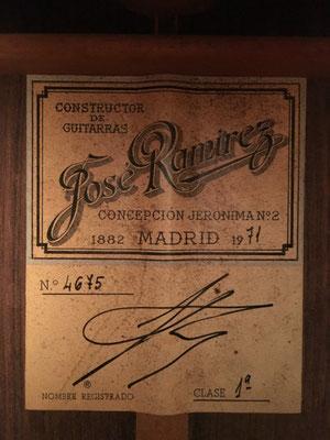 Jose Ramirez 1971 - Guitar 3 - Photo 3