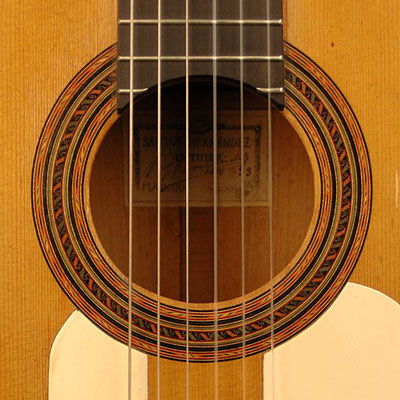 Santos Hernandez 1933 - Guitar 1 - Photo 5