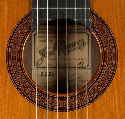 Jose Ramirez 1967 - Guitar 2 - Photo 3