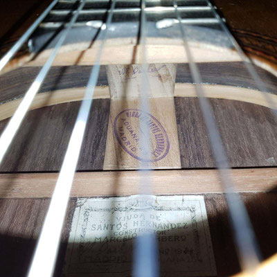 Viuda de Santos Hernandez 1944 - Guitar 1 - Photo 12