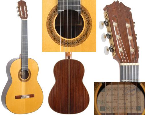 Arcangel Fernandez 1974 - Guitar 1 - Photo 1