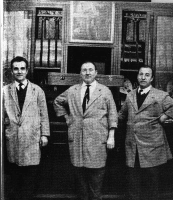 THE CONDE BROTHERS L. TO R. JULIO, FAUSTINO, MARIANO