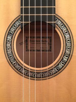 Francisco Barba 2016 - Guitar 5 - Photo 1