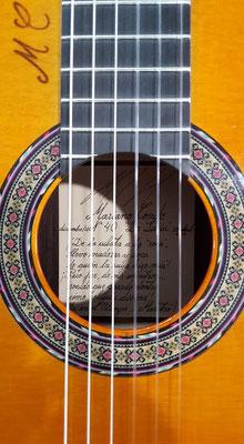 Mariano Conde 2016 - Guitar 8 - Photo 4