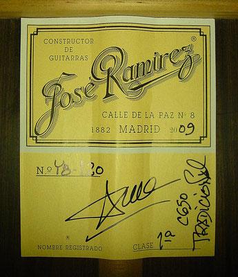 Jose Ramirez 2009 - Guitar 2 - Photo 7