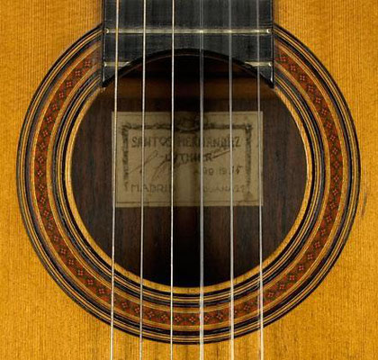 Santos Hernandez 1935 - Guitar 1 - Photo 2