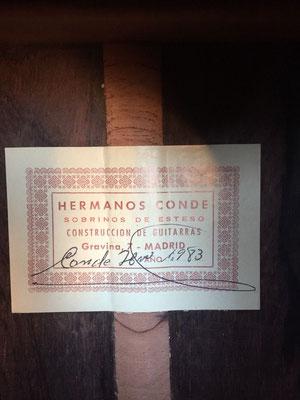 Hermanos Conde 1983 - Guitar 1 - Photo 6