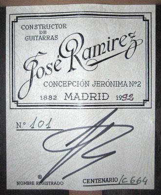 ose Ramirez 1992 - Guitar 1 - Photo 6