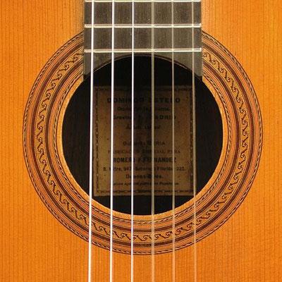 Domingo Esteso 1920 - Guitar 3 - Photo 5