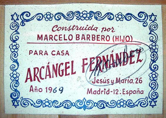 Marcelo Barbero Hijo 1969 - Guitar 1 - Photo 6