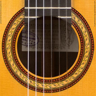 MANUEL REYES HIJO | GUITAR  GITARRE | 2009  | ROSETTES ROSETTEN