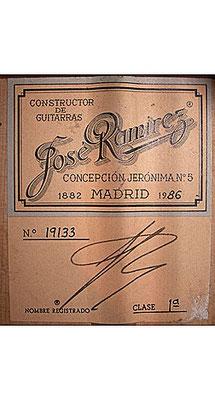 Jose Ramirez 1986 - Guitar 1 - Photo 4