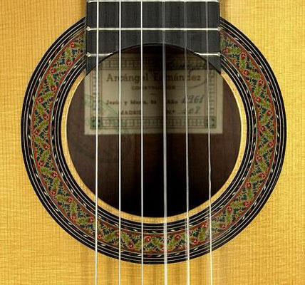 Arcangel Fernandez 1961 - Guitar 2 - Photo 3