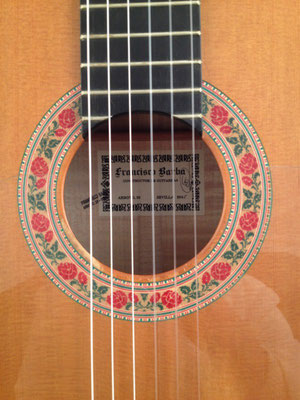 Francisco Barba 2005 - Guitar 1 - Photo 1