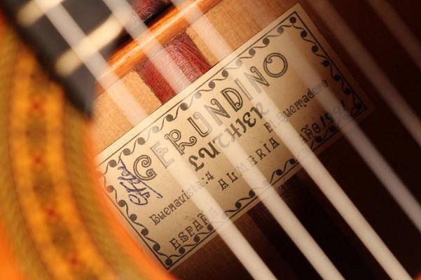 Gerundino Fernandez 1991 - Guitar 4 - Photo 13