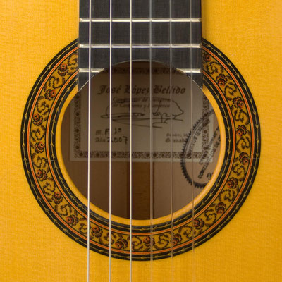 Jose Lopez Bellido 2007 - Guitar 1 - Photo 7