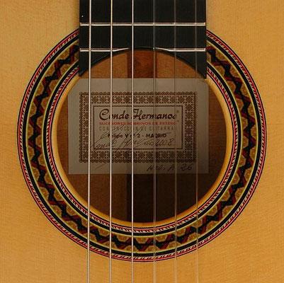 Hermanos Conde 2008 - Guitar 7 - Photo 3