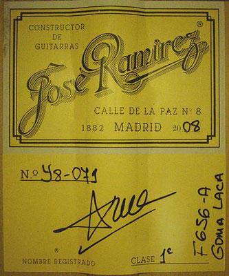 Jose Ramirez 2008 - Guitar 2 - Photo 3