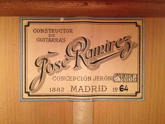 Jose Ramirez 1964 - Guitar 3 - Photo 2