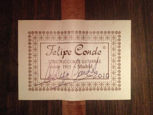 Felipe Conde 2010 - Guitar 2 - Photo 2