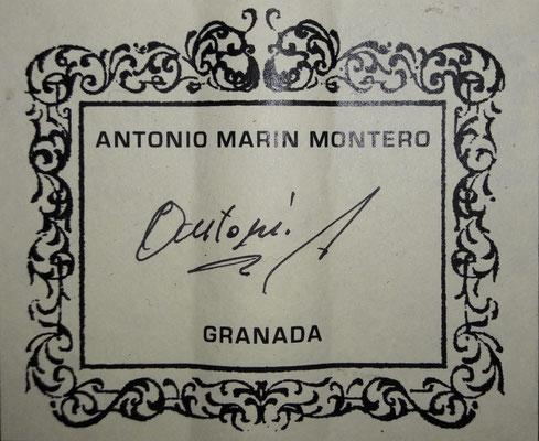 Antonio Marin Montero 2018 - Guitar 3 - Photo 24