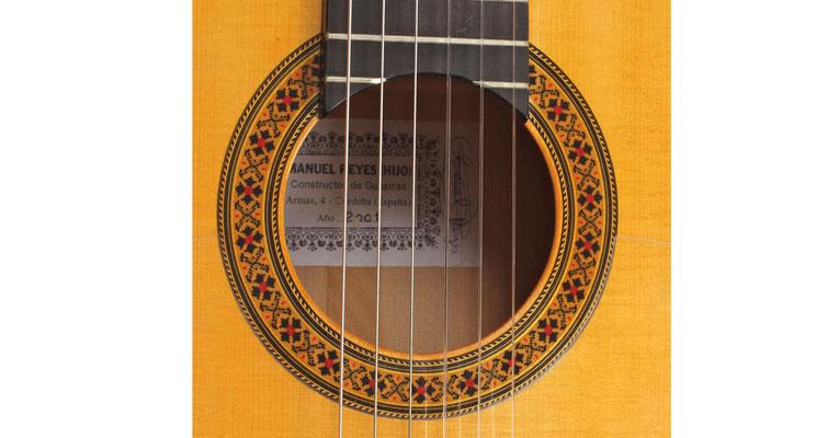 Manuel Reyes Hijo 2001 - Guitar 3 - Photo 7
