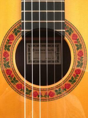 Francisco Barba 2016 - Guitar 4 - Photo 1