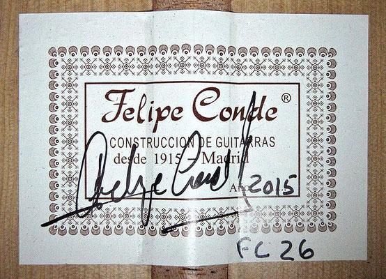 Felipe Conde 2015 - Guitar 4 - Photo 3