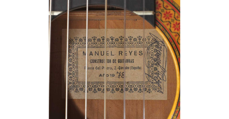 Manuel Reyes 1978 - Guitar 1 - Photo 7