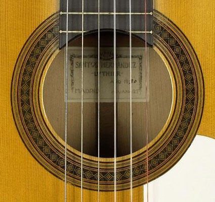 Santos Hernandez 1930 - Guitar 4 - Photo 4