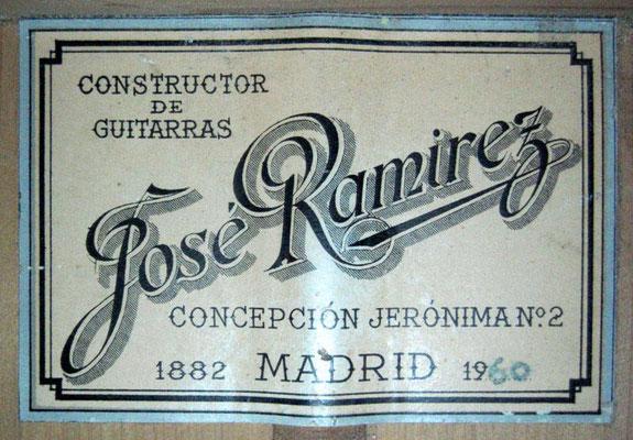 Jose Ramirez 1960 - Guitar 5 - Photo 3