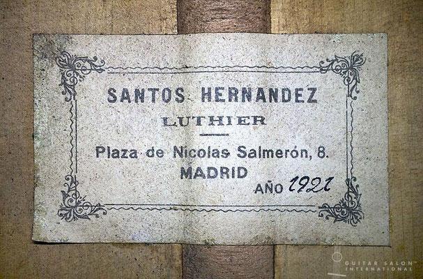 Arcangel Fernandez 1957 - Guitar 1 - Photo 3
