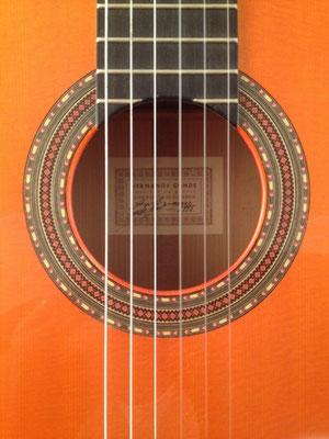 Hermanos Conde - Sobrinos de Esteso - 1995 - Guitar 3 - Photo 1