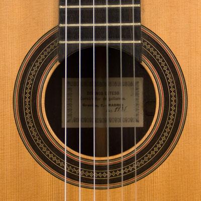 Domingo Esteso 1931 - Guitar 3 - Photo 7