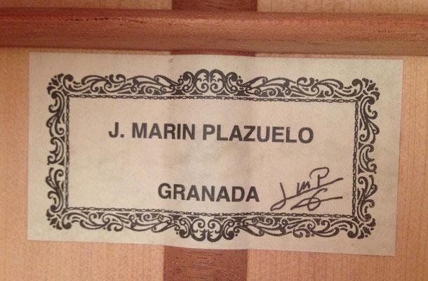 Jose Marin Plazuelo 2018 - Guitar 1 - Photo 7