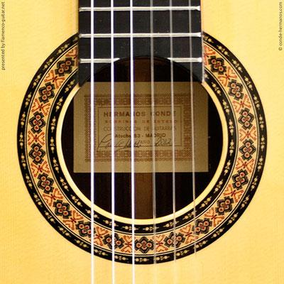 HERMANOS CONDE - SOBRINOS DE ESTESO 2012 #3 - ROSETTE - BOCA