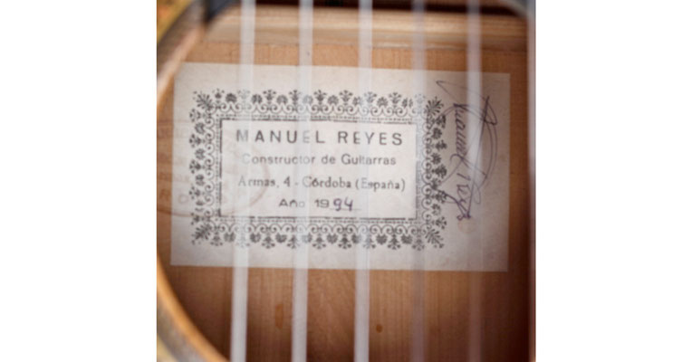 Manuel Reyes 1994 - Guitar 1 - Photo 4