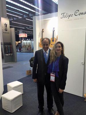 Felipe & Maria Conde @ Musikmesse 2017 Frankfurt, Germany