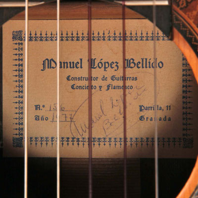 Manuel Bellido 1977 - Guitar 1 - Photo 11