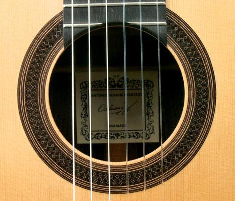 Antonio Marin Montero 2015 - Guitar 2 - Photo 4