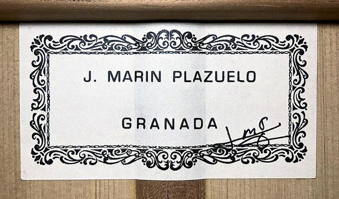 Jose Marin Plazuelo 1994 - Guitar 2 - Photo 11