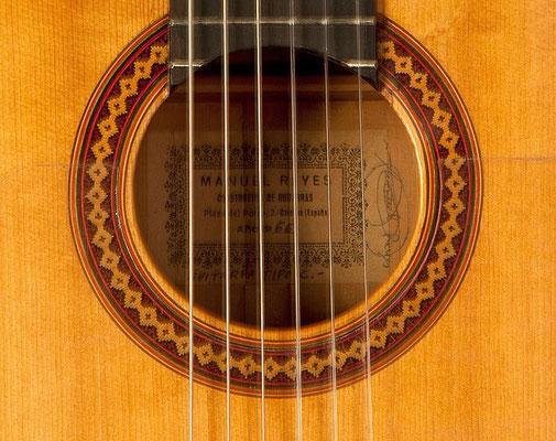 Manuel Reyes 1966 - Guitar 1 - Photo 5