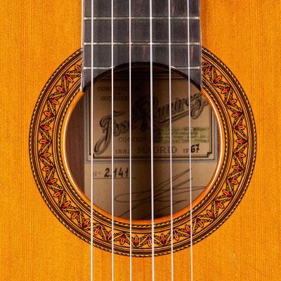 Jose Ramirez 1967 - Guitar 4 - Photo 9