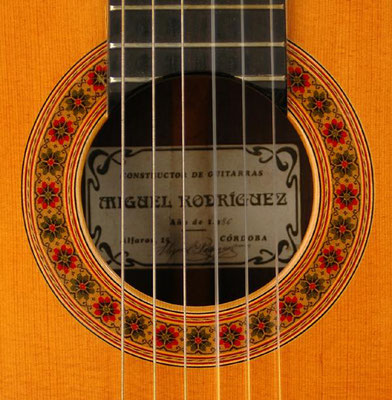 Miguel Rodriguez 1986 - Guitar 3 - Photo 1