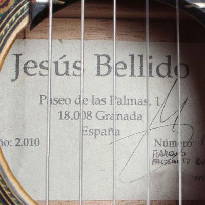 Jesus Bellido 2010 - Guitar 1 - Photo 5