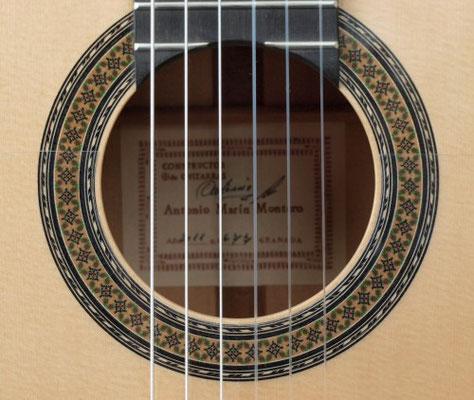 Antonio Marin Montero 2011 - Guitar 1 - Photo 6