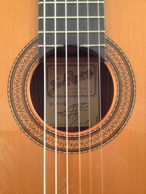 Jose Ramirez 1999- Guitar 1 - Photo 8