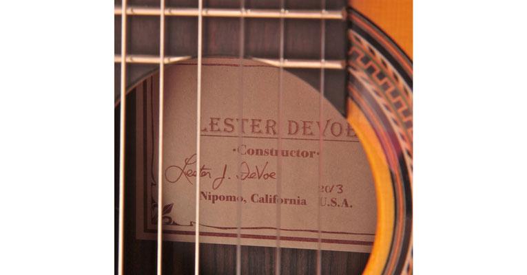 Lester Devoe 2013 - Guitar 2 - Photo 4