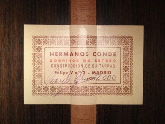 Hermanos Conde 2000 - Guitar 2 - Photo 2